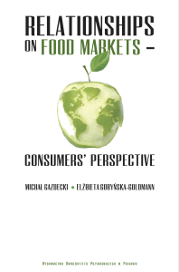 Relationships on food markets. Consumers' perspectives