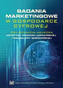 Badania marketingowe w gospodarce cyfrowej